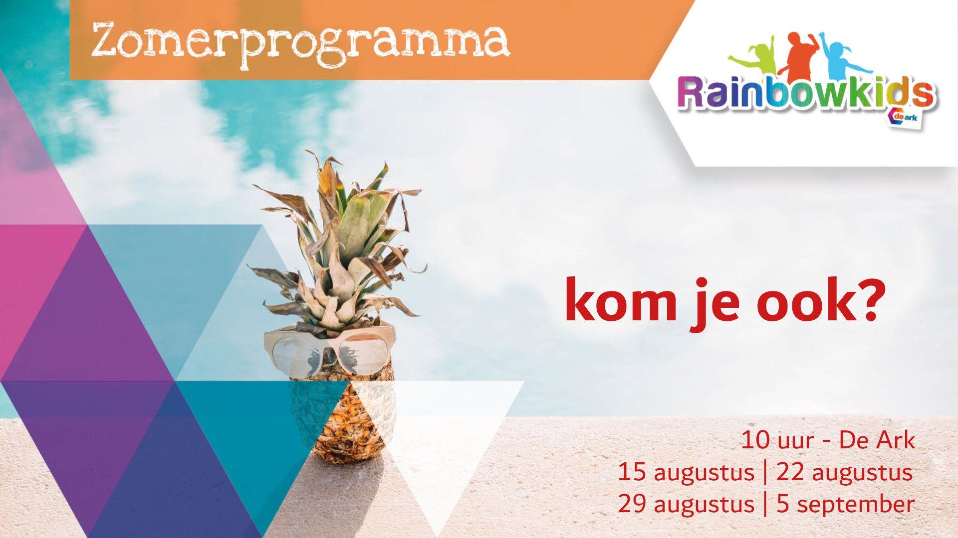 Rainbowkids zomerprogramma